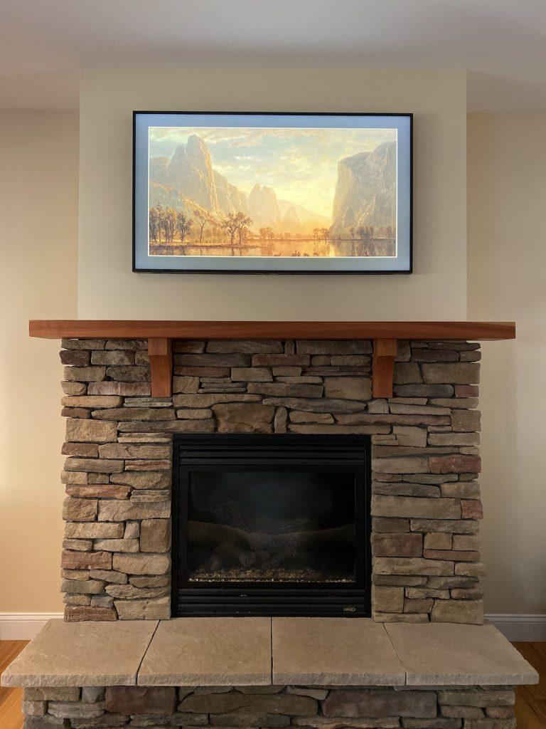 Custom tv framing