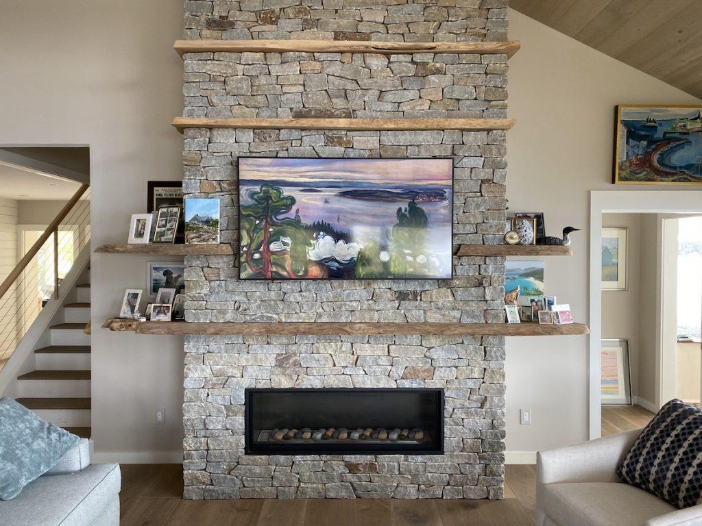 Installing TV Frame